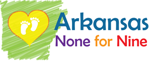 Arkansas None for Nine Logo